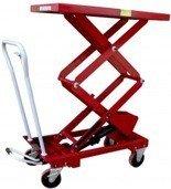 0301626 Wózek platformowy nożycowy PS-BS50D 500kg (udźwig: 500 kg)