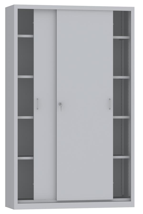 00150809 Szafa Przesuwna 4 Półki Wymiary 1950x1200x600 Mm