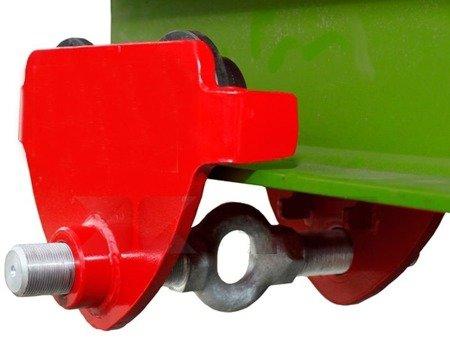 Wózek przejezdny do wciągnika (udźwig: 1,0 T, szerokość belki jezdnej: 50-203 mm) 03076117