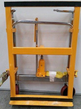 310709 Transporter hydrauliczny (udźwig: 1800 kg) Komplet dwie strony z pasami, do przewozu szaf, mebli, generatorów, rozdzielni