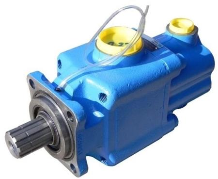 DOSTAWA GRATIS! 01539124 Pompa hydrauliczna tłoczkowa dwustrumieniowa Hydro Leduc (obj. geometryczna: 25+25cm³, prędkość obrotowa: 1600min-1 /obr/min)