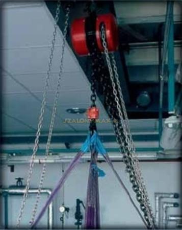 DOSTAWA GRATIS! 22021376 Wciągnik łańcuchowy z przekładnią planetarną Z100/10t (wysokość podnoszenia: 10m, udźwig: 10 T)