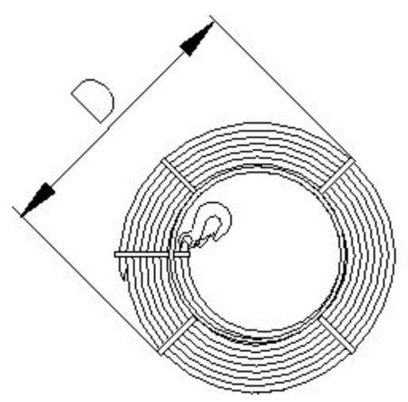 DOSTAWA GRATIS! 2203107 Wciągnik linowy, rukcug 30.10/0.8t (długość liny: 30m, udźwig: 0,8 T)