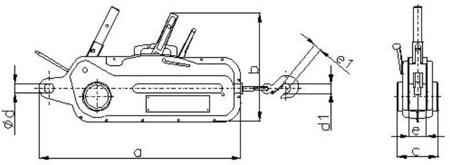 DOSTAWA GRATIS! 2203116 Wciągnik linowy, rukcug 30.11/3.2t (długość liny: 40m, udźwig: 3,2 T)