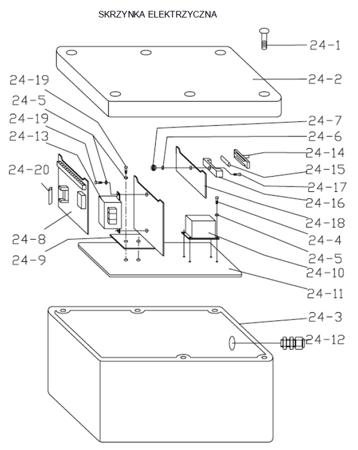 DOSTAWA GRATIS! 3109769 Stół podnośny elektryczny (wymiary platformy: 820x1300mm, udźwig: 1000 kg, wysokość podnoszenia min/max: 205-990 mm)