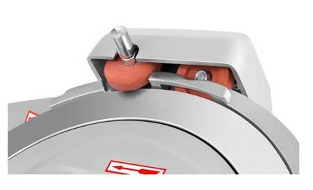 DOSTAWA GRATIS! 45643463 Krajalnica elektryczna do wędlin, mięsa i serów Royal Catering (moc: 280W, średnica noża: 300mm, grubość cięcia: 0-15mm)