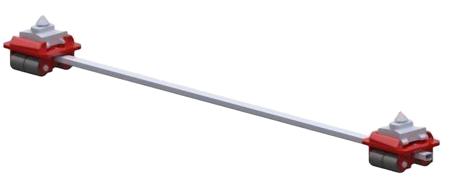 DOSTAWA GRATIS! 49942929 Podwozie tandemowe cointaimer (nośność: 6T)