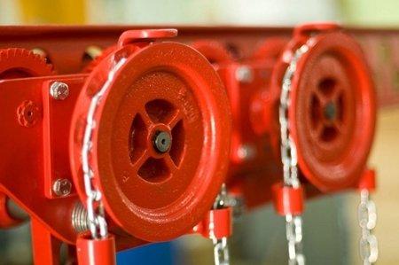 DOSTAWA GRATIS! 9588167 Wózek szynowy do wciągników stacjonarnych (udźwig: 3,2 T, wysokość podnoszenia: 3m, zakres toru jezdnego: 110-170 mm)