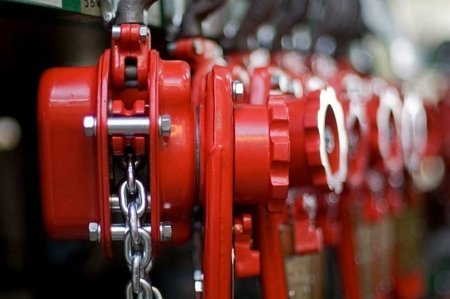 DOSTAWA GRATIS! 9588184 Wciągnik łańcuchowy dźwigniowy, rukcug, łańcuch Ogniwowy (udźwig: 1,0 T, wysokość podnoszenia: 1,5m)