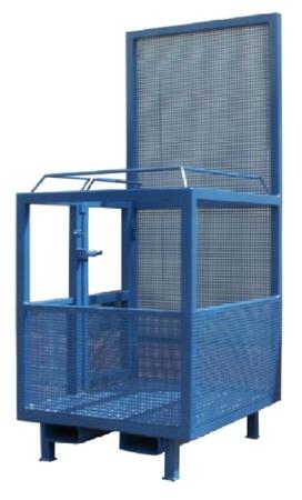 IMPROWEGLE Kosz na ludzi do wózka widłowego miproFork TWK-P 800 (udźwig: 300 kg, powierzchnia podłogi: 800x1200 mm) 33948642