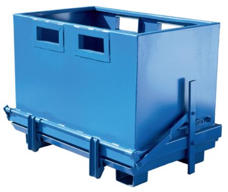 Pojemnik z dolną klapą GermanTech (pojemność: 700 L) 99724710