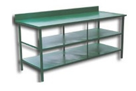 Stół montażowy, 2 półki (wymiary: 2000x900x900 mm) 77156881