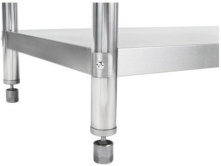 Stół roboczy ze stali nierdzewnej bez kantu Royal Catering (wymiary: 200 x 60 x 85 cm) 4564349