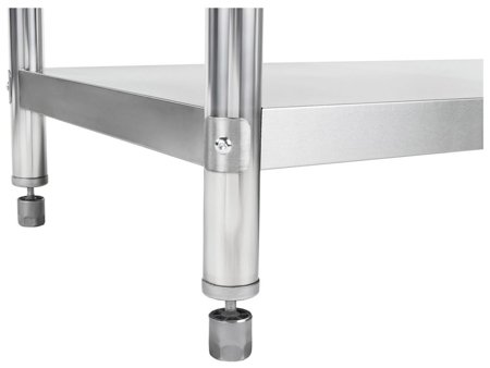 Stół roboczy ze stali nierdzewnej z kantem Royal Catering (wymiary: 60 x 150 x 96,4 cm) 4564355