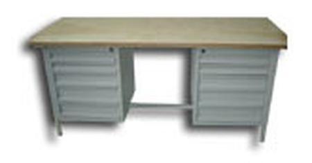 Stół warsztatowy, 10 szuflad (wymiary: 2000x750x900 mm) 77156857