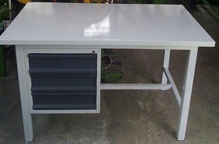 Stół warsztatowy mocny, 3 szuflady (wymiary: 1600x900x1000 mm) 77156962