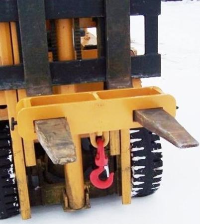 Uchwyt z hakiem (podwójny) (3000kg) 2903550
