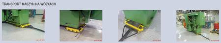 Zestaw wózków, rolki: 20x kompozyt (nośność: 36 T) 12235622